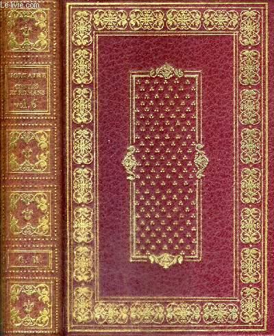 CONTES ET ROMANS DE M.DE VOLTAIRE - TOME 6 - Contes arabes et indiens - le danger d'avoir raison - voyage au ciel - le hibou et les oiseaux - les trois manières - ce qui plait aux dames - l'éducation d'un prince - gertrude - azolan etc.