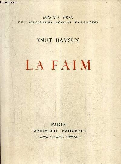 LA FAIM .