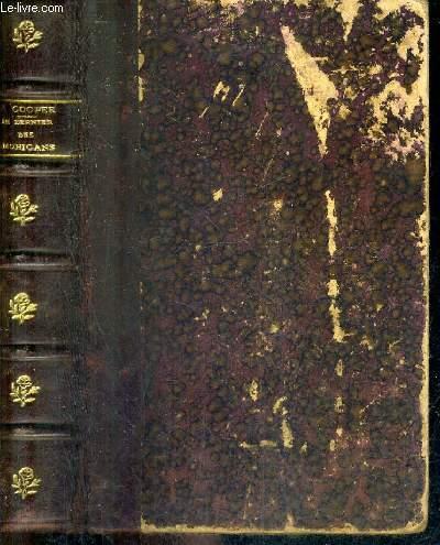 LE DERNIER DES MOHICANS - TOME 1 + TOME 2 EN UN VOLUME.