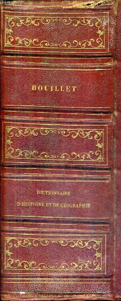 DICTIONNAIRE UNIVERSEL D'HISTOIRE ET DE GEOGRAPHIE / 2E EDITION REVUE ET CORRIGEE.