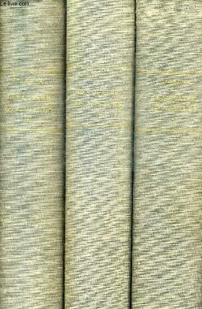 LES QUATRE EVANGILES / EN 3 TOMES / TOMES 1 + 2 + 3 / COLLECTION LES OEUVRES COMPLETES D'EMILE ZOLA.