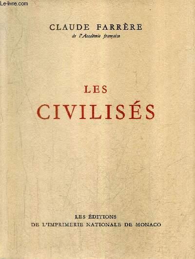 LES CIVILISES / COLLECTION DES PRIX GONCOURT.