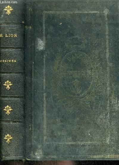 PAGES CHOISIES DES GRANDS ECRIVAINS - MERIMEE - LECTURES LITTERAIRES .