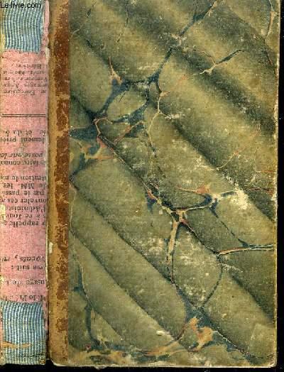 LES NUITS D'YOUNG - TRADUITES DE L'ANGLAIS PAR M.LE TOURNEUR - TOME 1 - NOUVELLE EDITION.