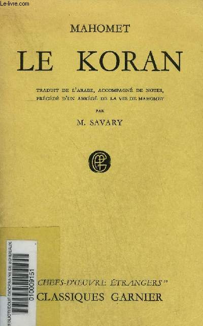 LE KORAN.