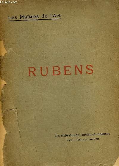RUBENS - COLLECTION LES MAITRES DE L'ART.