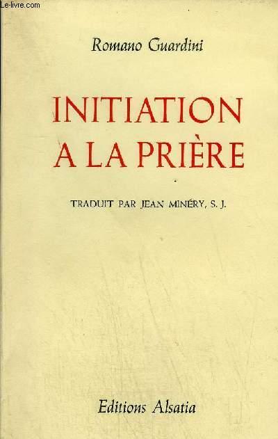 INITIATION A LA PRIERE.