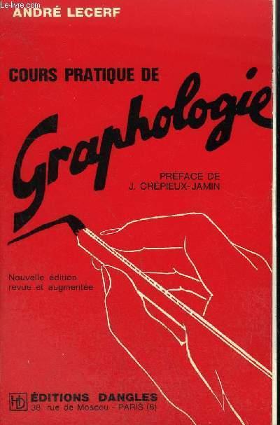 COURS PRATIQUE DE GRAPHOLOGIE - LETTRES A GRAPHITA .