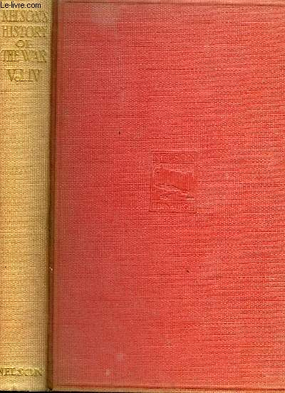 NELSON'S HISTORY OF THE WAR - VOLUME 4 .