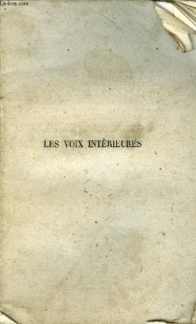 LES VOIX INTERIEURES.