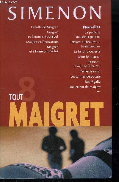 TOUT MAIGRET 8 .