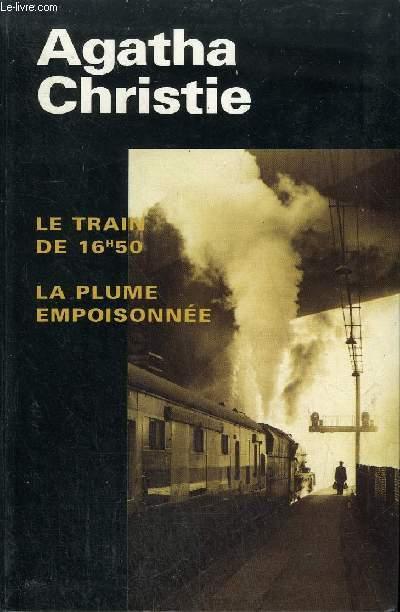 LE TRAIN DE 16H50 LA PLUME EMPOISONNEE.