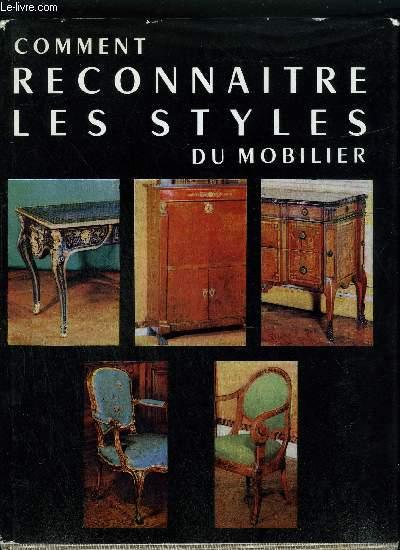 COMMENT RECONNAITRE LES STYLES DU MOBILIER.