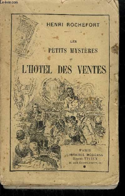 LES PETITS MYSTERES DE L'HOTEL DES VENTES.