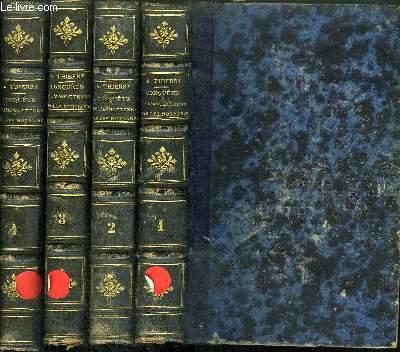 CONQUETE DE L'ANGLETERRE PAR LES NORMANDS - 4 VOLUMES - TOME 1+2+3+4 / 11eme edition