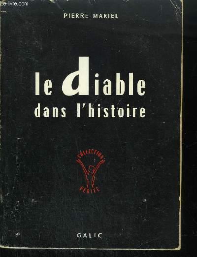 LE DIABLE DANS L'HISTOIRE