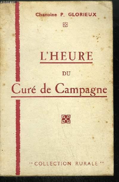 L'HEURE DU CURE DE CAMPAGNE