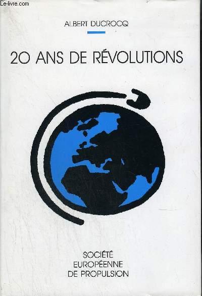 20 ANS DE REVOLUTIONS