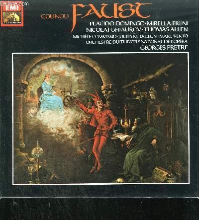 1 COFFRET DE 4 CASSETTES AUDIO / FAUST - OPERA EN CINQ ACTES - 4 cassettes audio incluses sous emboïtage