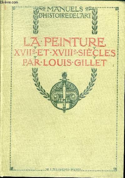 LA PEINTURE XVII ET XVIII SIECLES