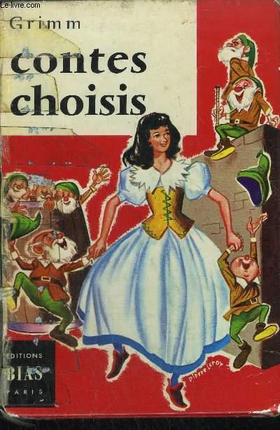 CONTES CHOISIS - Blanche-Neige - Les trois cheveux d'or du diable - Les trois rameaux verts - Le roi Corbin - L'Ondine / COLLECTION ANEMONES