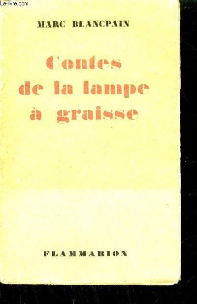 CONTES DE LA LAMPE A GRAISSE