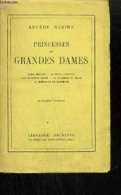PRINCESSES ET GRANDES DAMES