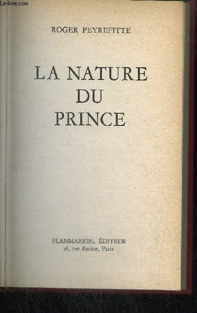 LA NATURE DU PRINCE