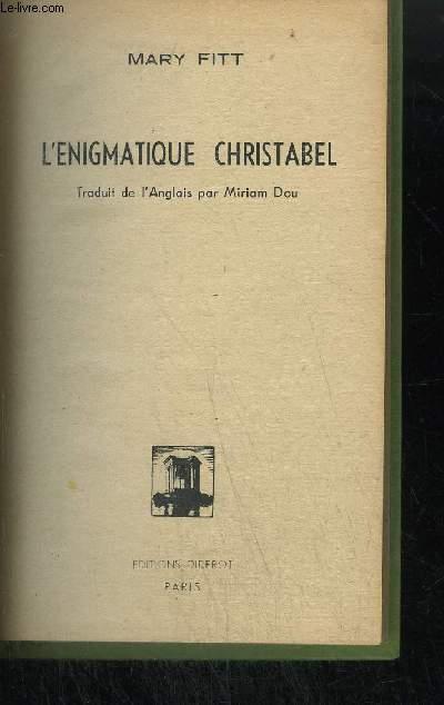 L'ENIGMATIQUE CHRISTABEL