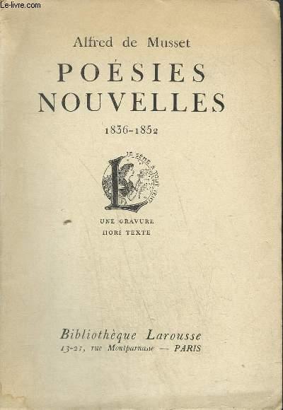 POESIES NOUVELLES 1836-1852