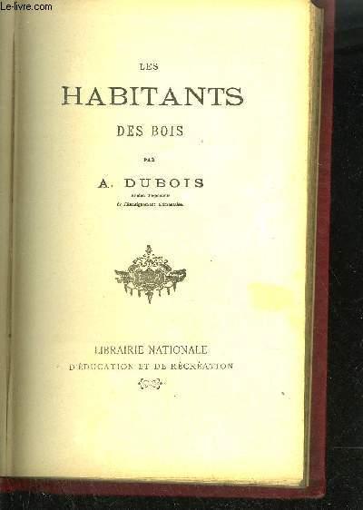 LES HABITANTS DES BOIS