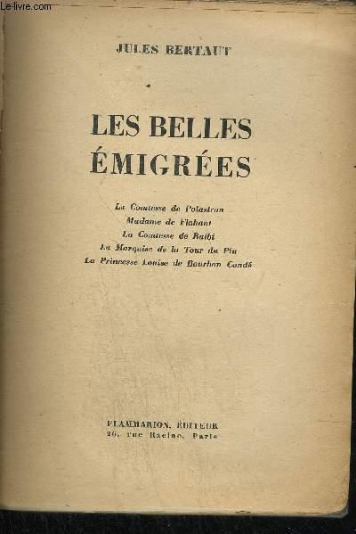 LES BELLES EMIGREES