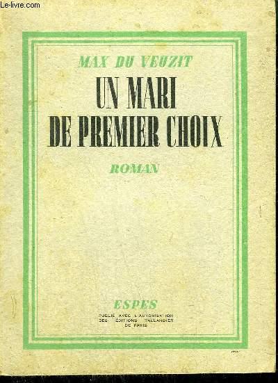 UN MARI DE PREMIER CHOIX