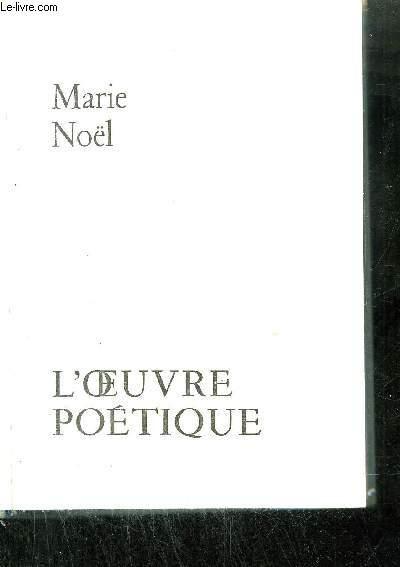 L'OEUVRE POETIQUE