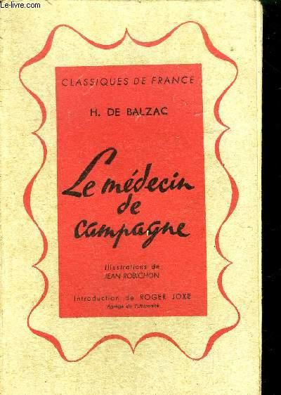 LE MEDECIN DE CAMPAGNE / COLLECTION CLASSIQUES DE FRANCE