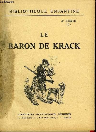 LE BARON DE KRACK / BIBLIOTHEQUE ENFANTINE