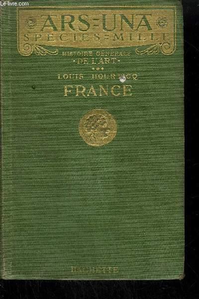 HISTOIRE GENERALE DE L'ART - FRANCE