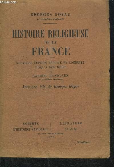 HISTOIRE RELIGIEUSE DE LA FRANCE