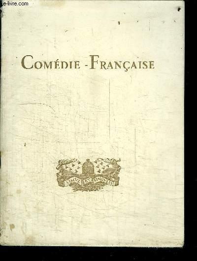 LA COMEDIE-FRANCAISE