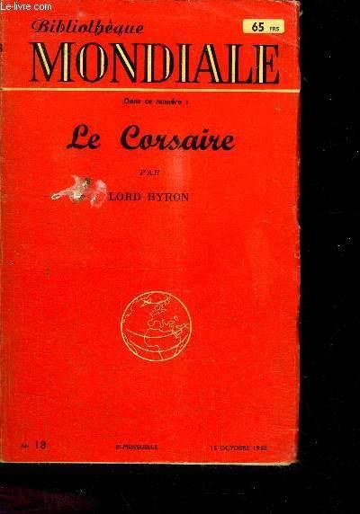 LE CORSAIRE -  15 OCTOBRE 1953 - N°18