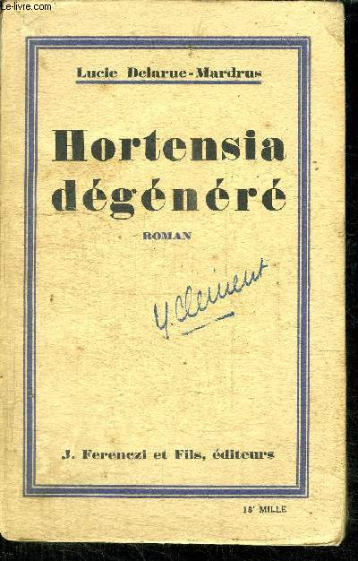 HORTENSIA DEGENERE