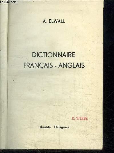 DICTIONNAIRE FRANCAIS-ANGLAIS