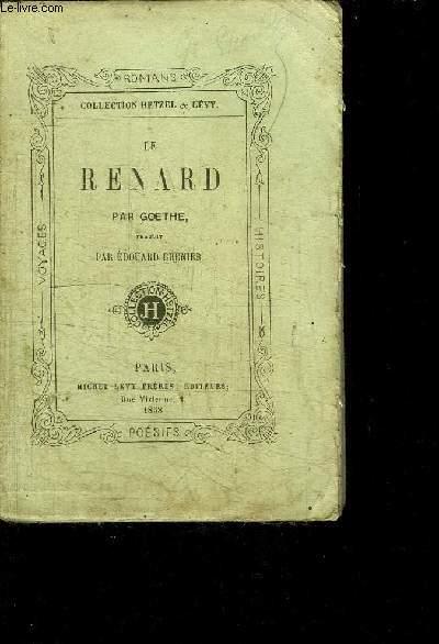 LE RENARD / COLLECTION HETZEL & LEVY