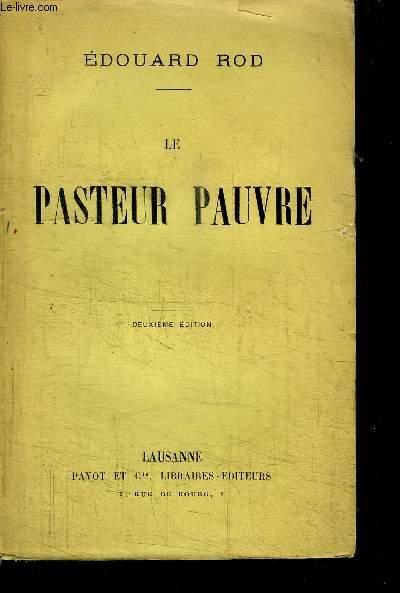 LE PASTEUR PAUVRE