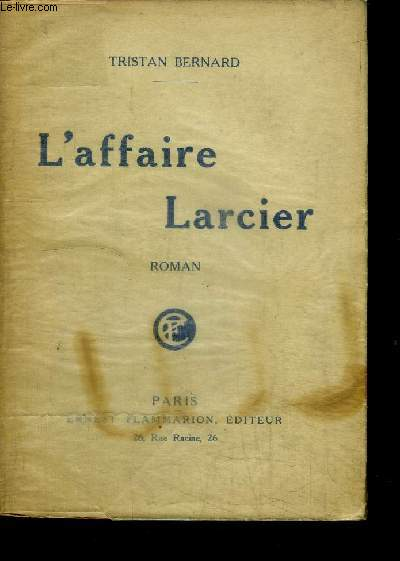 L'AFFAIRE LARCIER