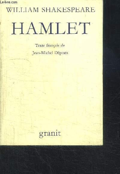 LA TRAGEDIE D'HAMLET PRINCE DE DANEMARK / COLLECTION DE LA HERSE