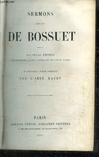 SERMONS CHOISIS DE BOSSUET