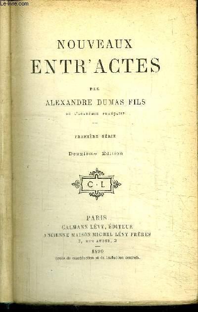 NOUVEAUX ENTR'ACTES / première série - deuxième édition