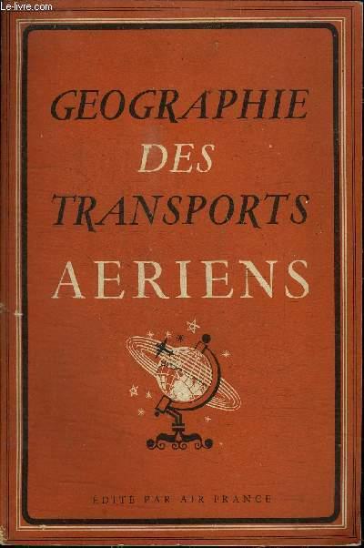 GEOGRAPHIE DES TRANSPORTS AERIENS