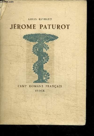 JEROME PATUROT A LA RECHERCHE D'UNE POSITION SOCIALE